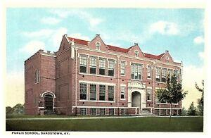 Bardstown-Kentucky-Public-School-Vintage-Postcard-A69034-1923