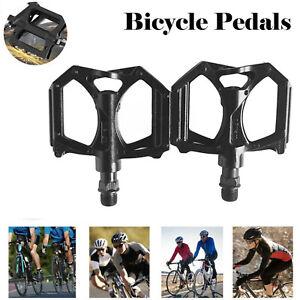 Road Mountain Bike Pedals Aluminum Cycling Sealed Bearing Flat Platform Bicycles