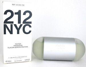 212-NYC-Perfume-Carolina-Herrera-3-4-oz-Eau-de-Toilette-Spray-Women-New-Tester