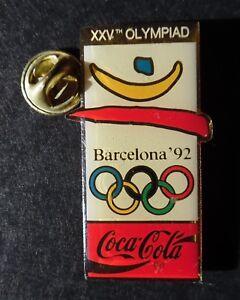 Coca-Cola-Olympiad-games-Barcelona-92-enamel-pin-badge