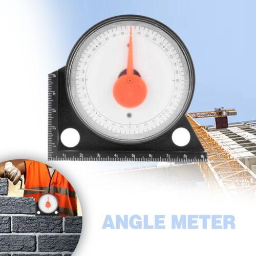 Slope Inclinometer Angle Finder Protractor Tilt Level MeterClinometer Gauge kk