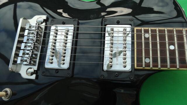John Birch guitarras Reino Unido Magnum 4 + conjunto de recolección Hyperflux 5 Cem