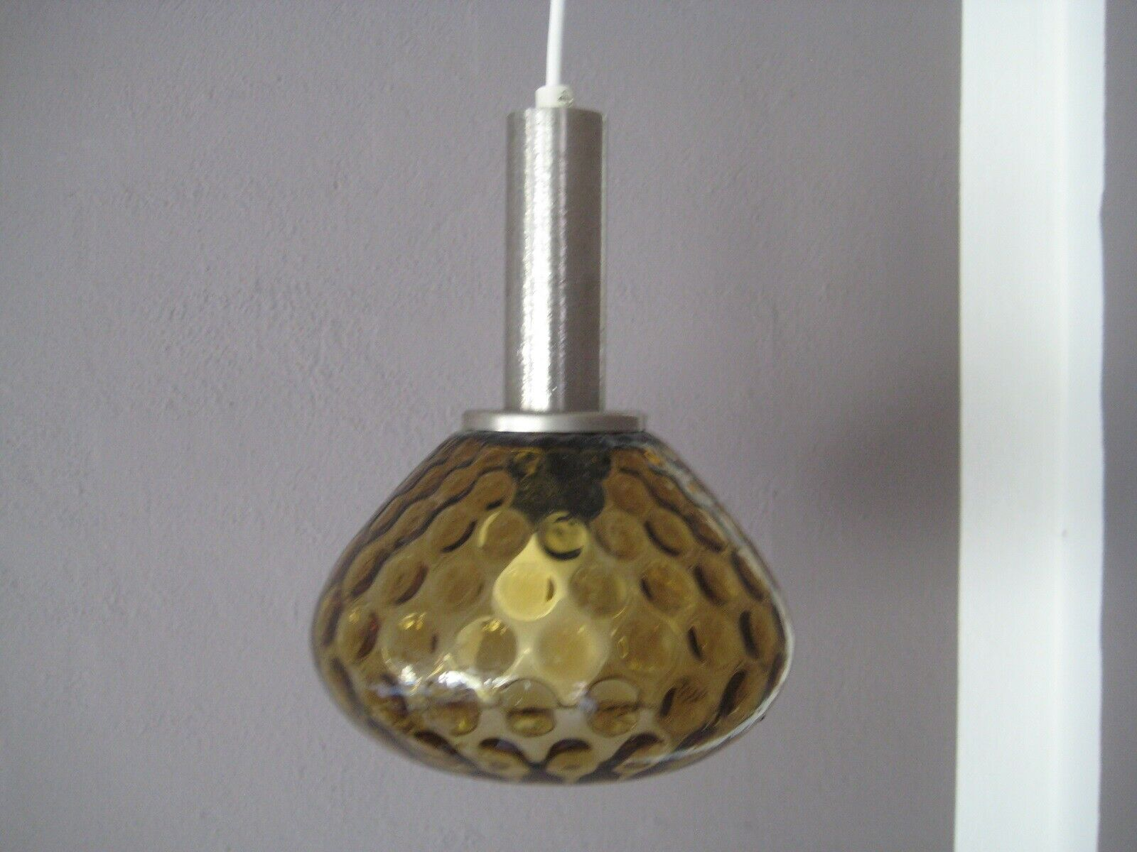 Stor glas lampe, Gammel – dba.dk – Køb og Salg af Nyt og Brugt