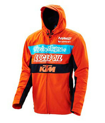 2019 Troy Lee Designs TLD KTM Team Pit Jacket MX SX