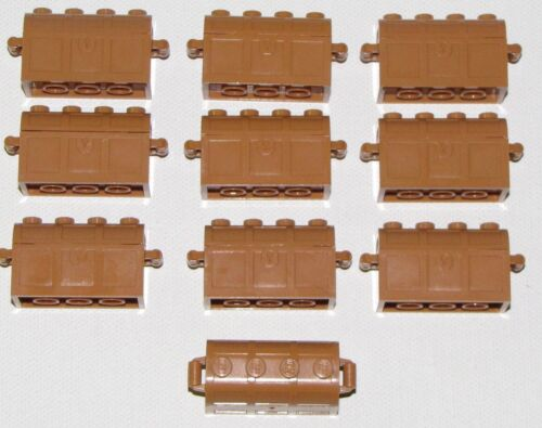 Lego 10 New Medium Light Flesh Minifigure Treasure Chest Pieces Parts