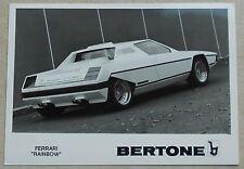 Ferrari Dino Rainbow Bertone Photo Press book buch brochure prospekt depliant
