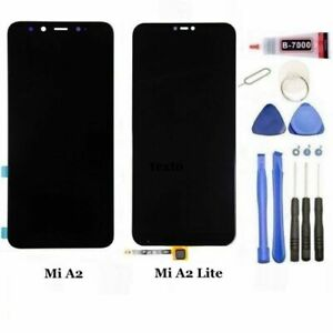 Pantalla-Xiaomi-Mi-6X-Mi-A2-Mi-A2-LITE-Redmi-6-PRO-Completa-LCD-Tactil-Negra