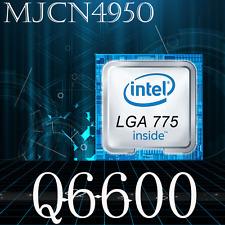 Intel Core 2 Quad Q6600 (SLACR) Quad-core 2.4GHz/8M/1066 Socket LGA775 CPU
