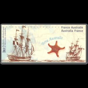 EMISSION COMMUNE (2002) AUSTRALIE : bicentenaire rencontre des explorateurs navi