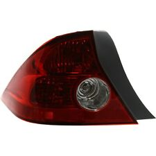 Tail Light For 2004 2005 Honda Civic Driver Side Coupe Assembly Fits 2004 Honda Civic