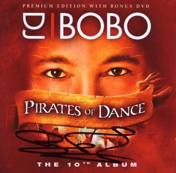 "DJ BOBO ""PIRATES OF DANCE"" CD+DVD NEU"