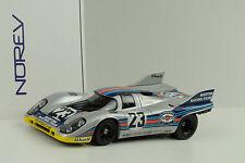 1971 917k PORSCHE 917 Martini 1000 Km SPA #23 Marko Lennep 1:18 NOREV
