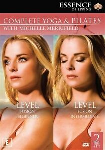 Michelle-Merrifield-Complete-Yoga-and-Pilates-Collection-NEW-DVD-Region-4-AUST