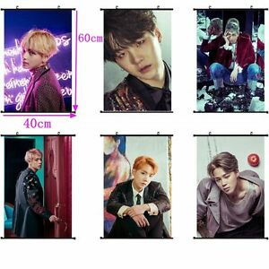 Kpop Bts Wings Wall Hanging Poster Bangtan Boys You Never Walk Alone