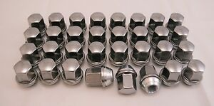 32-New-Dodge-Ram-Factory-OEM-Polished-Stainless-9-16-18-Lug-Nuts-Lugs-6036433AA