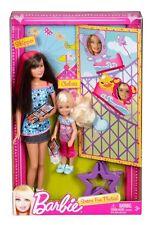 BARBIE SISTERS FUN PHOTO SKIPPER & CHELSEA  2-DOLL SET *NEW*