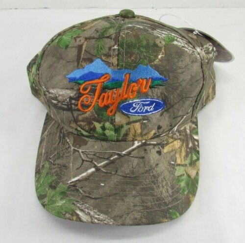 Taylor Ford Realtree Real Tree Xtra Green Cammo Hat New W Tags Hunting Cap