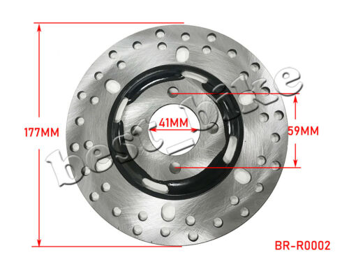 Disc Front Rear Brake Rotor 150 200 250 300 cc ATV ROKETA Go kart UTV SUNL