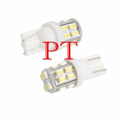 2x 6000K Xenon White LED T10 921 912 AOT 20SMD Backup Reverse Light Bulb
