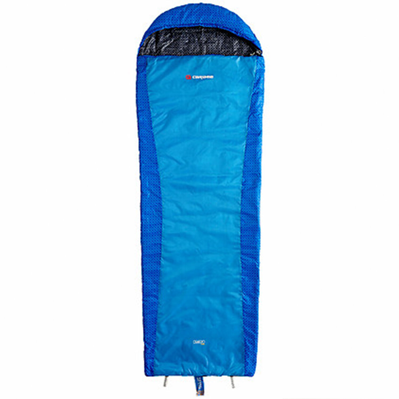 Caribee Plasma Extreme +3c Compact Hiking Sleeping Bag blueE