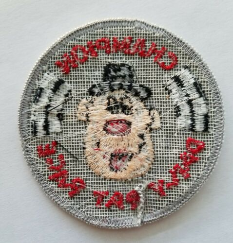 """Vintage /""""CHAMPION DAILY RAT RACE/"""" Patch 1970s Humorous Unused NOS From USA"""