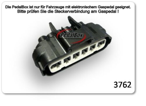 DTE PedalBox 3S für MAZDA 3 BK 110KW 10 2003-06 2009 2.0 Tuning Gaspedalbox Chip