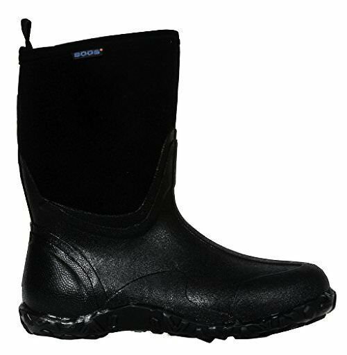Bogs Mens Classic Mid Waterproof Insulated Rain Boot- Select SZ color.