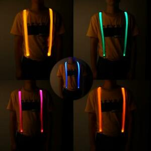 LED-Luminous-Strap-Blinkender-Brustgurt-Luminous-Suspender-Elastic-Pant-Strap