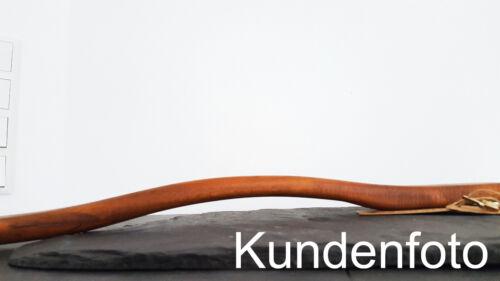 XXL Schuhanzieher Schuhlöffel ergonomisch 70 cm Holz braun nussbaum dunkel