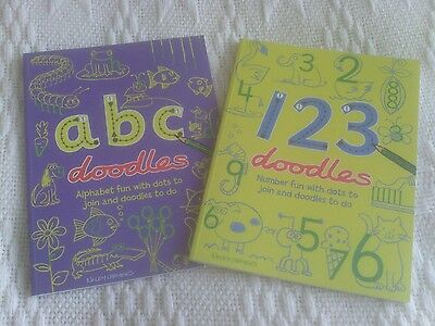ABC and 123 doodles