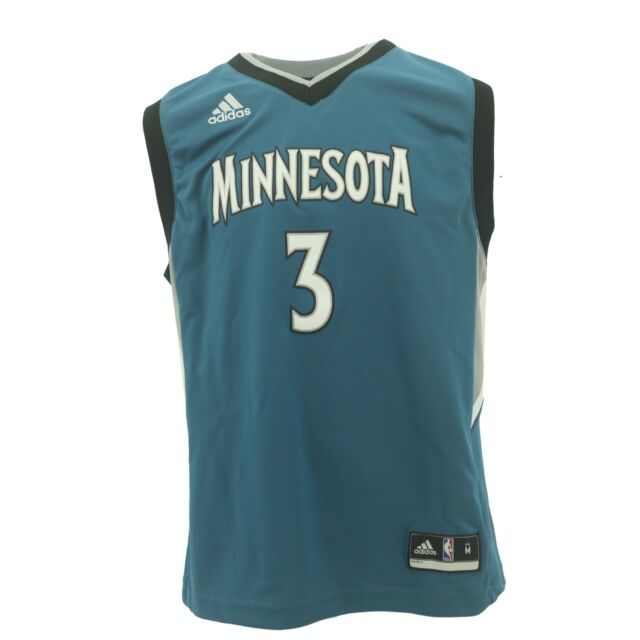 differently 06edf b4661 Minnesota Timberwolves Official NCAA Adidas Kids Youth Size Kris Dunn  Jersey New