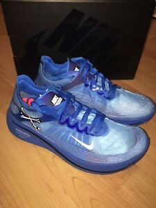 Dettagli su AR4349 400 Nike Zoom Fly x Undercover Gyakusou Blue Men's Size 8.5 US