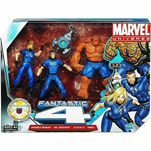 "Marvel Universe MR FANTASTIC 3.75/"" Figure White Gray Variant Fantastic 4 Four"