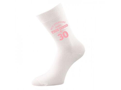 30th Birthday Gift Present Idea Girls Mum Her 1989 Women 30 White Sock Vintage