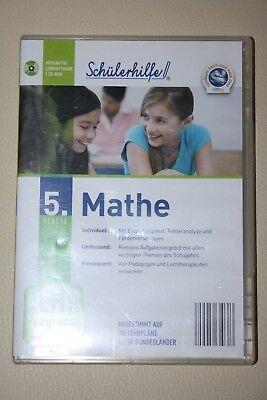 cd-rom Mathe Schülerhilfe Klasse Ein Kunststoffkoffer Ist FüR Die Sichere Lagerung Kompartimentiert Lehr-programm 5
