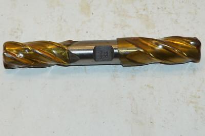 "NEW Larcher UK 1/"" Dia Extra Long 6 Flute HSS No4400 1/"" Shank END MILL"