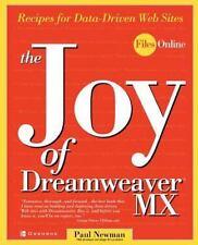 The Joy of Dreamweaver MX: Recipes for Data-Driven Web Sites  Paperback