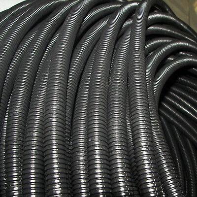 "10' Feet 1/2"" Split Loom Wire Cable Flexible Tubing Conduit Hose Cover Car Sales"