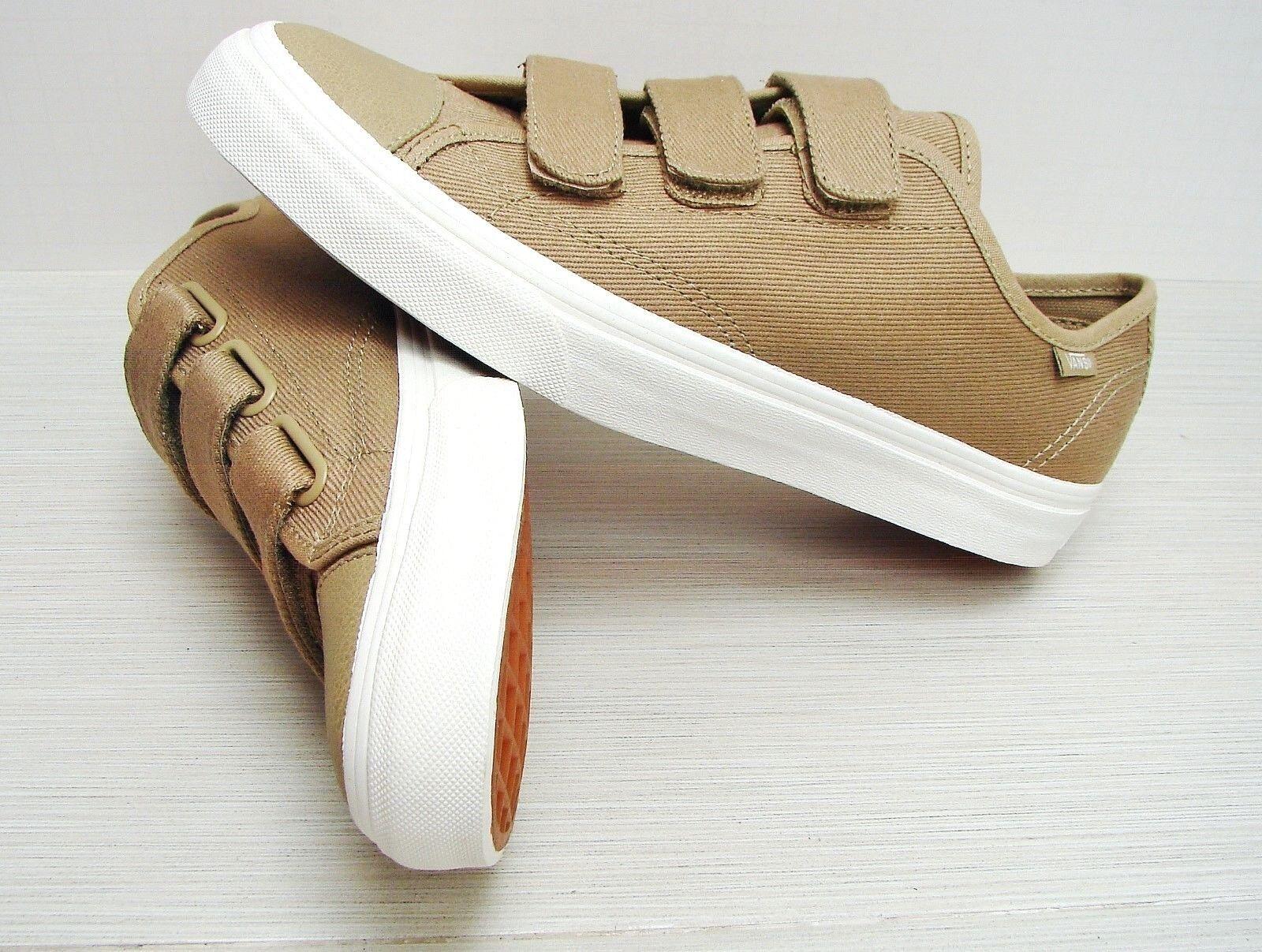 Vans Prison Issue Twill Cornstalk white de white VN000SDJJTO Men's Size 8.5