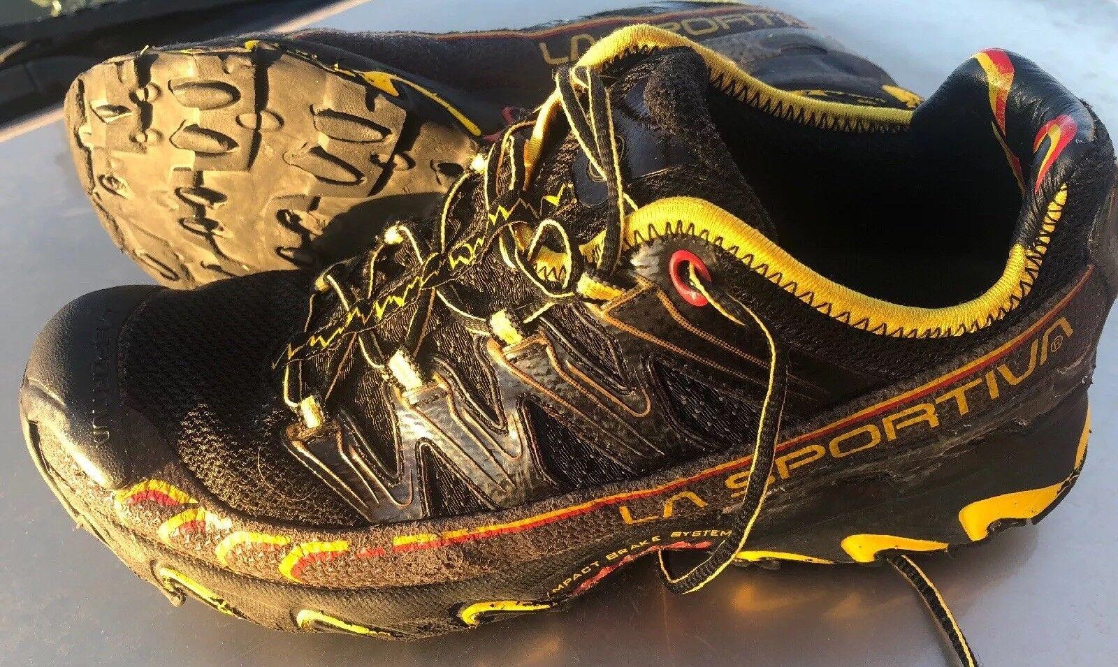 La sportiva ultra - raptor tracce scappando uomini neri giallo, / giallo, neri misura 10,5 99f0b5