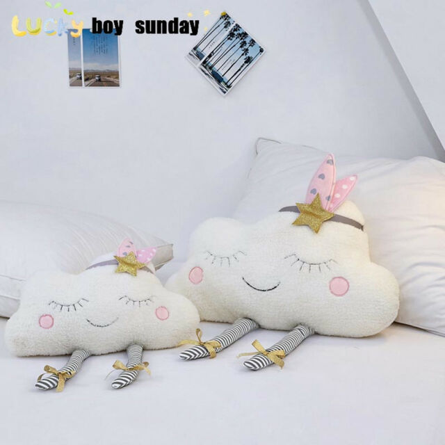Baby Room Cloud Shape Sofa Cushion Pillow Stuffed Plush Toys Home Decoration