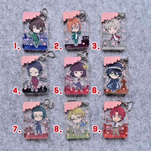 Hot Japan Anime Bungo Stray Dogs Charm Rubber Strap Keychain Pendant P56