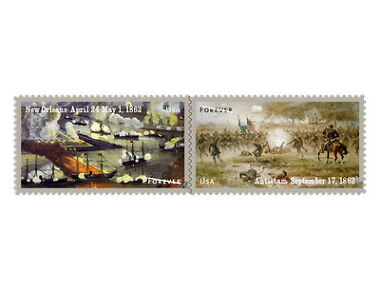 USPS New Civil War Stamp Souvenir Sheet
