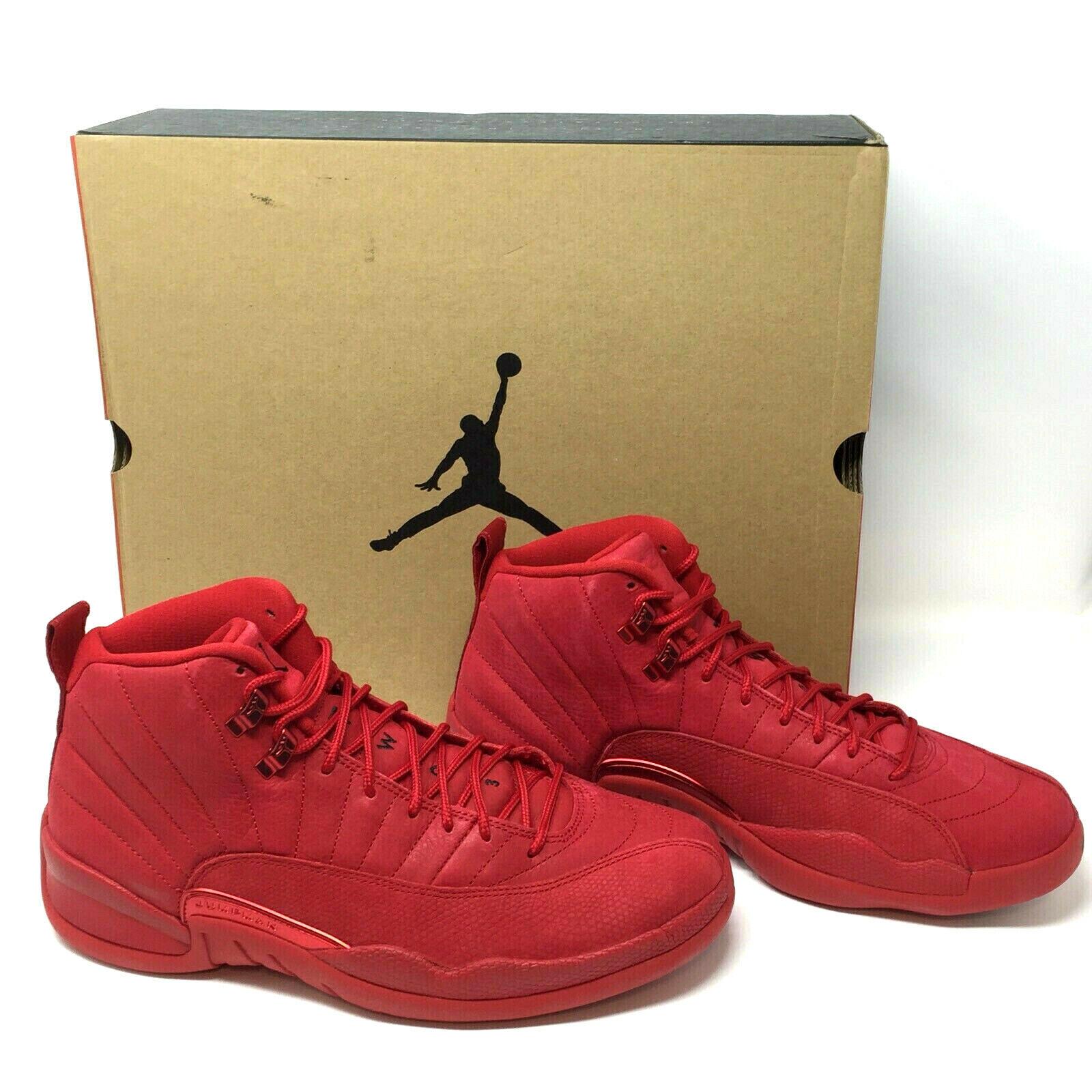 best cheap d1f82 7f6f7 2018 Nike Air Jordan 12 XII Retro Gym Red Size 10.5 Shoes Mens Bulls  130690-601