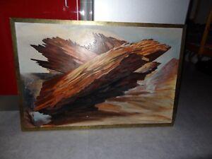Ancien-tableau-fresque-signee-J-M-BERTAUX-peintre-fresquiste-art-mural-quiberon