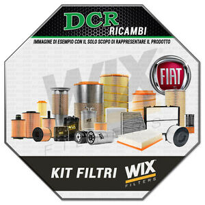 Servicekit-Filter-Fiat-Stilo-1-4i-16V-95CV-70KW-Von-12-2003-Al-11-2006-WIX