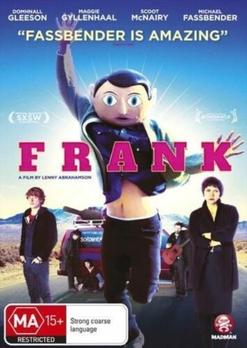 1 of 1 - Frank (DVD, 2014) 'NEW & SEALED'
