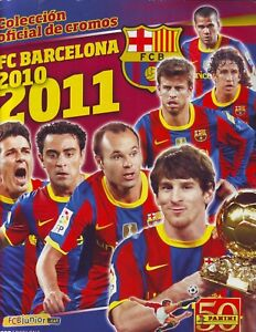 COMPLETE-ALBUM-WITH-ALL-STICKERS-FC-BARCELONA-2010-2011-PANINI