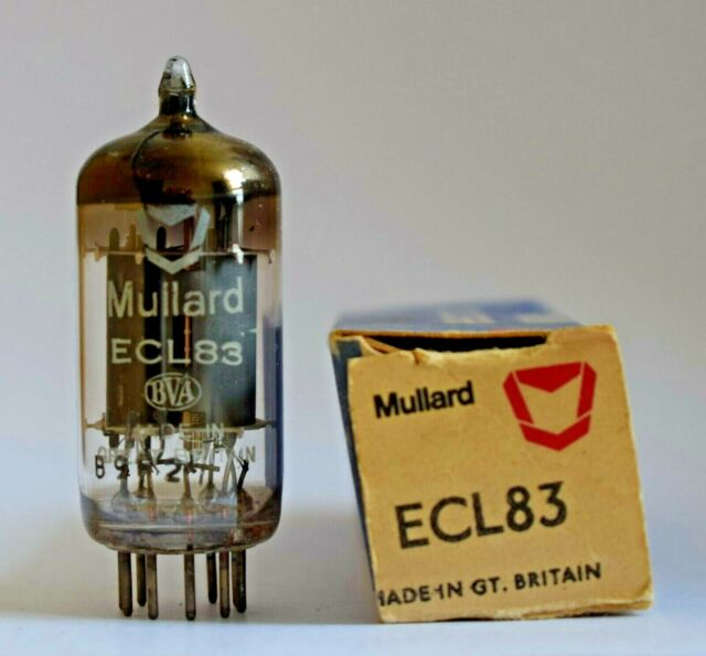 Mullard ECL83 Modern Logo Valve/Tube New Old Stock (V28)