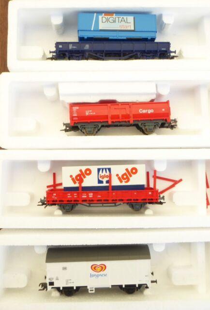 Roco 41212 in Set Cheap Goods Wagon DB Ag Ep.5/6 Nem + Kkk, Boxed